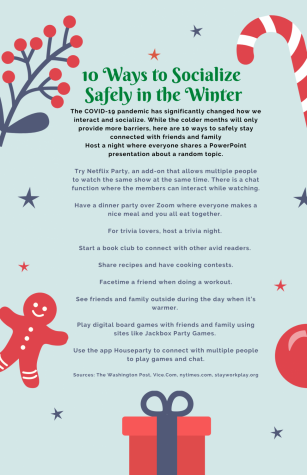 Top 10: Ways to socialize safely in the winter