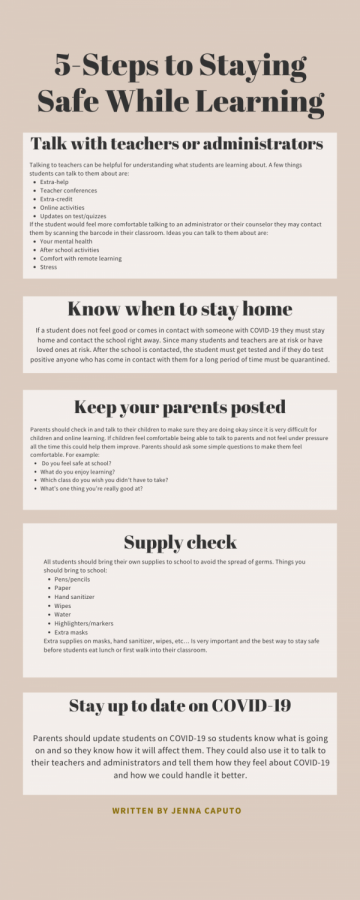 5 steps to staying safe while learning